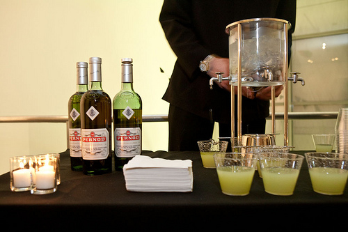 Pernod Absinthe thought so too. That's why the brand sponsored last month's Burtonalia, an intimate look at Tim Burton's MoMA exhibition.