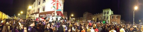 Downtown Baltimore after winning the AFC Championship! Photo courtesy of D. Zanzero!