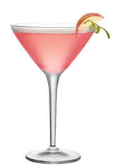 Perfect for spring White Peach Blossom Martini