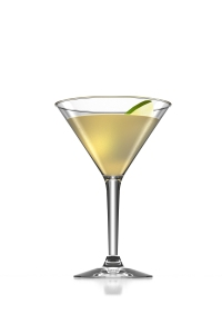 The perfect for fall Apple Crumble Martini with Jameson and Hiram Walker Butterscotch